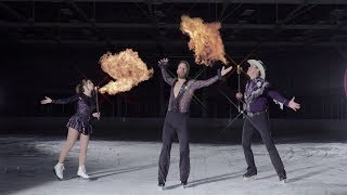 The Burning Man Tour On Ice Video