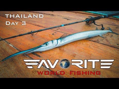Favorite World Fishing: Таиланд, день 3. Сарганье эльдорадо.