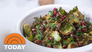 Giada De Laurentiis, Bobby Flay Cook Butternut Squash Lasagna, Brussels Sprouts | TODAY
