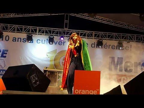 Concert de Zaho à Conakry pour les 10 d'espace fm