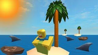 SURVIVE ON DESERT ISLAND! (ROBLOX ISLAND)