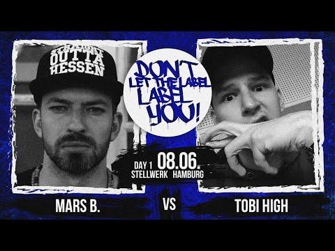 Mars B. vs Tobi High // DLTLLY RapBattle (Hamburg) // 2019