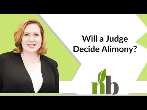 Will a Judge Decide Alimony? | Alabama Divorce Attorney | Divorce Lawyers | Amber James