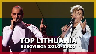 Eurovision LITHUANIA (2010-2020)   My Top 11
