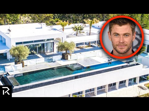 Inside Chris Hemsworth's $30 Million Dollar Mansion