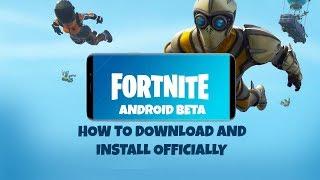 Comment télécharger FORTNITE BETA sur Android et installer officiellement