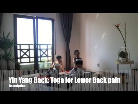 yin yang back yoga for lower back pain  youtube