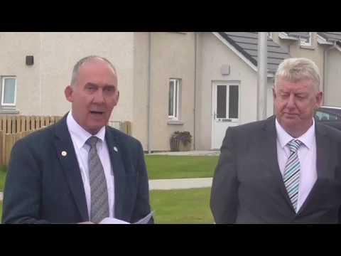Norman A Macdonald, Convenor Comhairle Nan Eilean Siar | Mackenzie Lane Opening