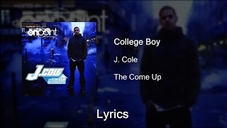 Watch J Cole College Boy video