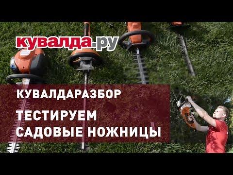 Обзор садовых ножниц | Husqvarna, Gardena, Stihl | Кувалдаразбор