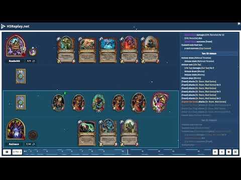 ProGaming - Hearthstone, Highlander Warlock(5) Vs Control Warrior(5) By Snakebit And Anixace, Ran...