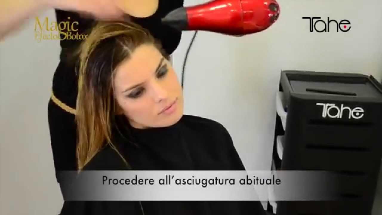 Tahe Magic Efecto Botox Trattamento Rigenerante Per Capelli