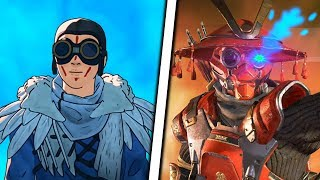 Bloodhound's GODLIKE Story in Apex Legends
