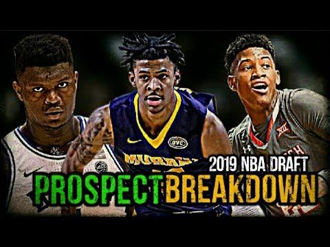 2019 NBA Draft Prospect Breakdown: Ja Morant   Zion Williamson   Jarrett Culver thumbnail