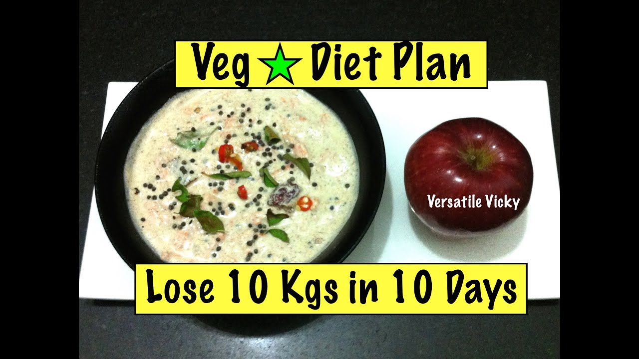How to Lose Weight Fast 10 kgs in 10 days / 1000 Calorie ...