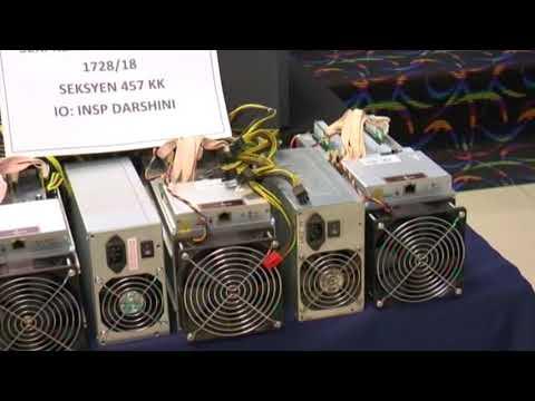 9 Nabbed Over Bitcoin Mining MachinesTheft