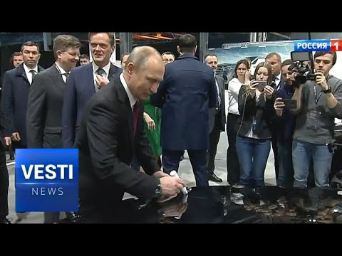 Putin Brings German Business to Russia! Mercedes-Benz Opens New Factory in Moscow!