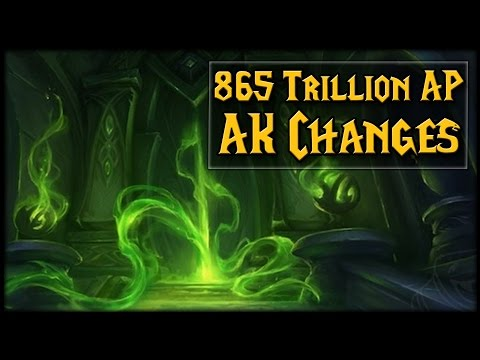865 TRILLION AP?! AK Changes In 7.2!