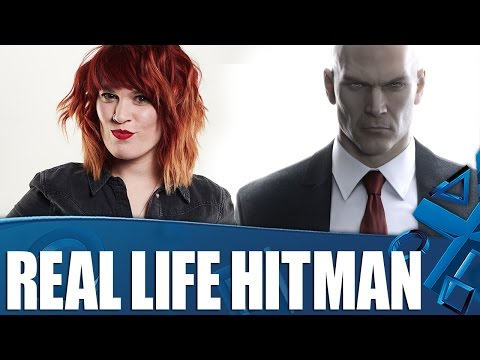 Hitman in Real Life: Hollie takes no prisoners!