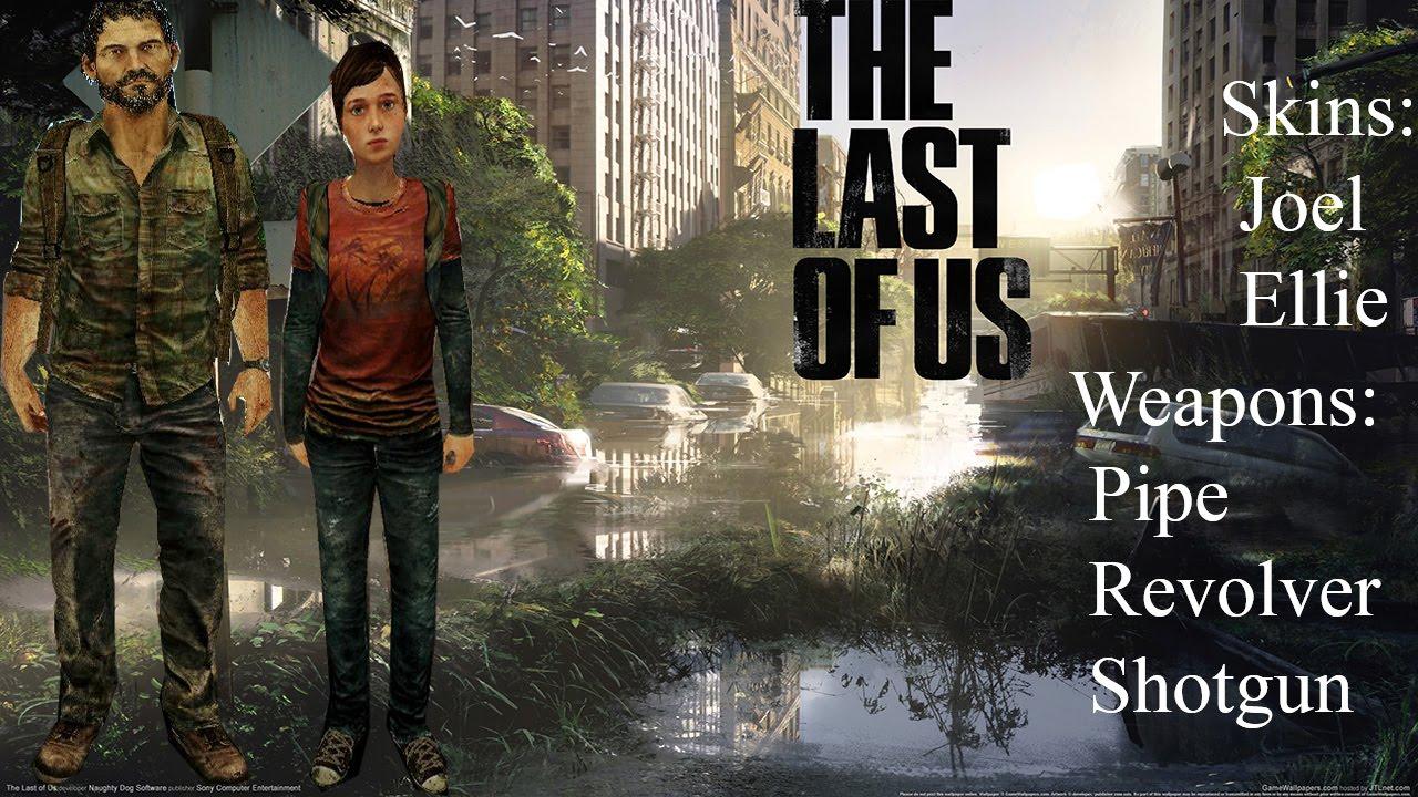 The Last Of Us Mini Pack GTA SA YouTube - Minecraft last of us map