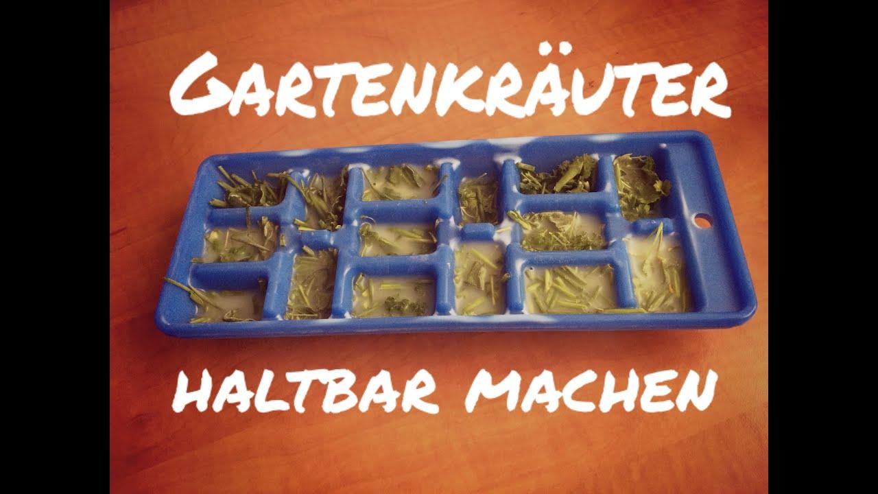 Hortensien Haltbar Machen : gartenkr uter einfrierern haltbar machen the walking beauties youtube ~ A.2002-acura-tl-radio.info Haus und Dekorationen