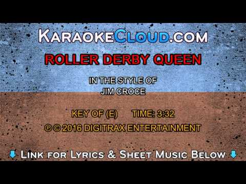 Jim Croce - Roller Derby Queen (Backing Track)