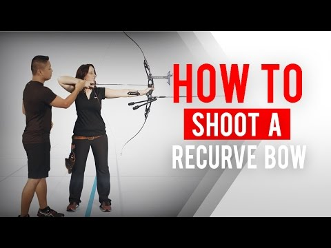 How to shoot a recurve bow | Archery 360