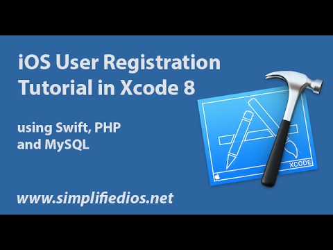 IOS User Registration Tutorial In Xcode 8 Using Swift, PHP And MySQL