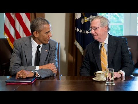 Obama: I'd Enjoy Drinking Kentucky Bourbon With Mitch McConnell