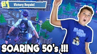 FORTNITE SOARING 50's / UNLIMITED GLIDING POSSIBILITIES