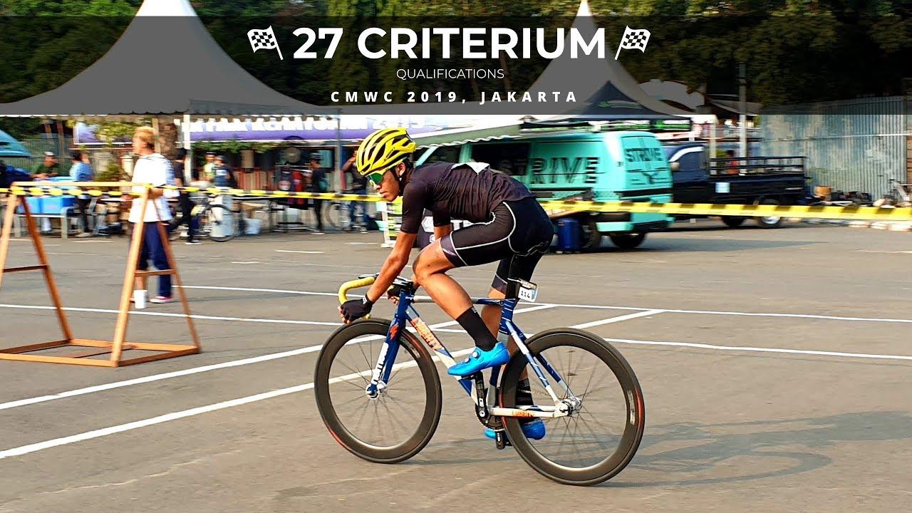 27 Criterium Qualifications CMWC Jakarta 2019