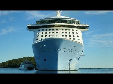 Anthem of the Seas Tender Operation in Bar Harbor