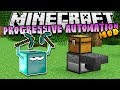 Minecraft: PROGRESSIVE AUTOMATION! (Automated Mining) - Mod Showcase