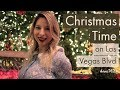 Christmas Time on the Las Vegas Strip 2018 | Free and Family Friendly