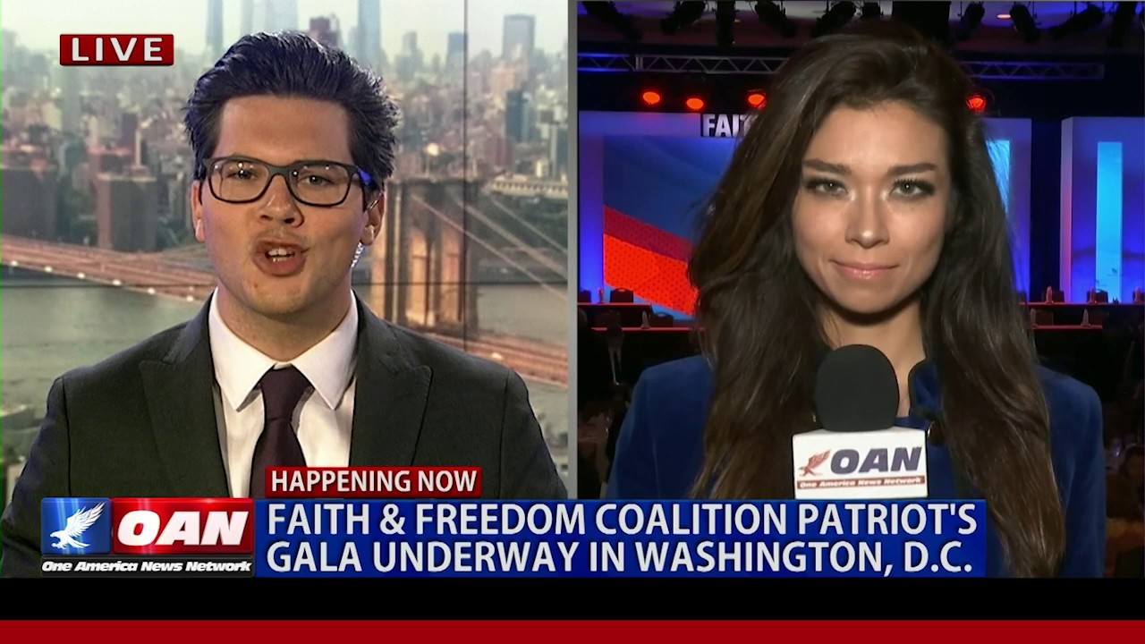 OAN Faith & Freedom Coalition Patriot's Gala Recap