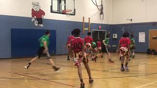 Jr Terps vs Team 5 Robinson -Marvin and Joel Guthrie Coach Fritz