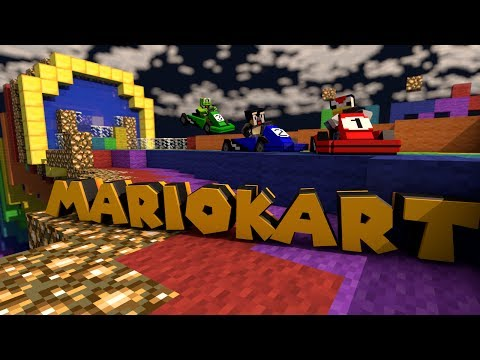 "Minecraft Mods | The Modded Games Ep 2 - ""MARIO KART RACING MOD"""