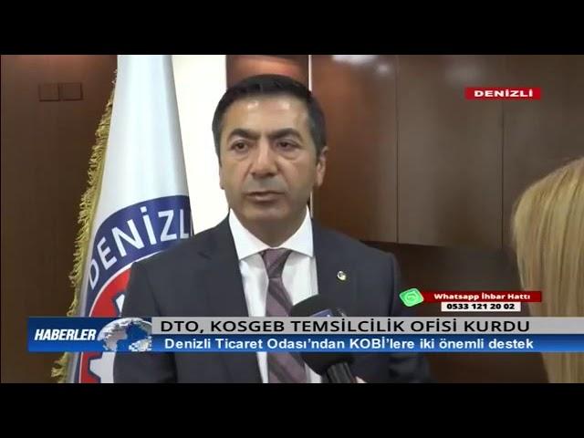 Deha TV-DTO'dan KOBİ'lere iki önemli destek 08 04 2019
