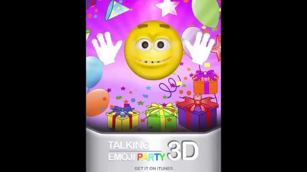 Free Birthday Emojis ~ Talking emoji sings happy birthday youtube