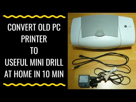 How To Convert Old Printer To Useful Tool - COOL IDEA
