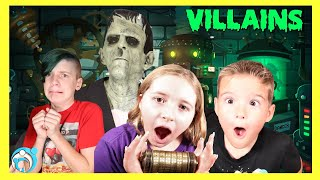 VILLAINS Finale: Frankenstein Monster Comes to Life (Thumbs Up Family)
