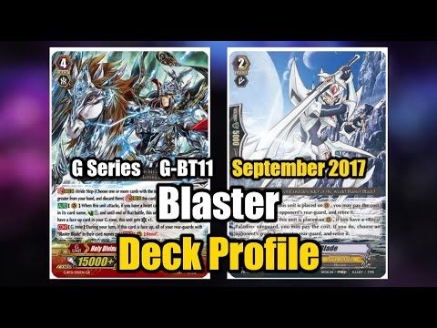 Royal Paladin Blaster Exceed Deck Profile G-BT11   (Updated) September 2017