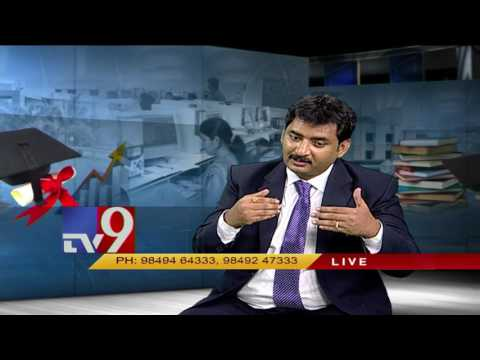 Career after B.Tech and B.Pharm - Tips by Sri Rama Krisha from Vishwa Vishwani Business School - TV9