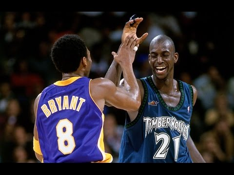 Kobe and KG Through the Years
