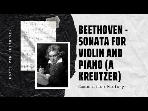 Beethoven - Sonata for violin and piano (A Kreutzer)