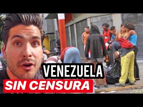 UN DIA EN CARACAS, VENEZUELA - SIN OCULTAR NADA