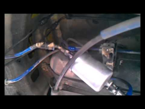 Vauxhall Zafira Fuel Filter Location 1 8 I 2003 Youtube