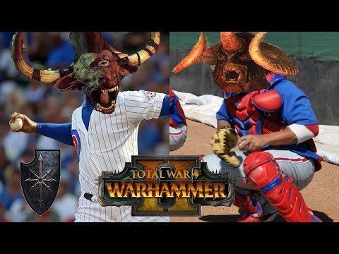 Chaos vs Beastmen | PAPA KHOLEK: Total War Warhammer 2