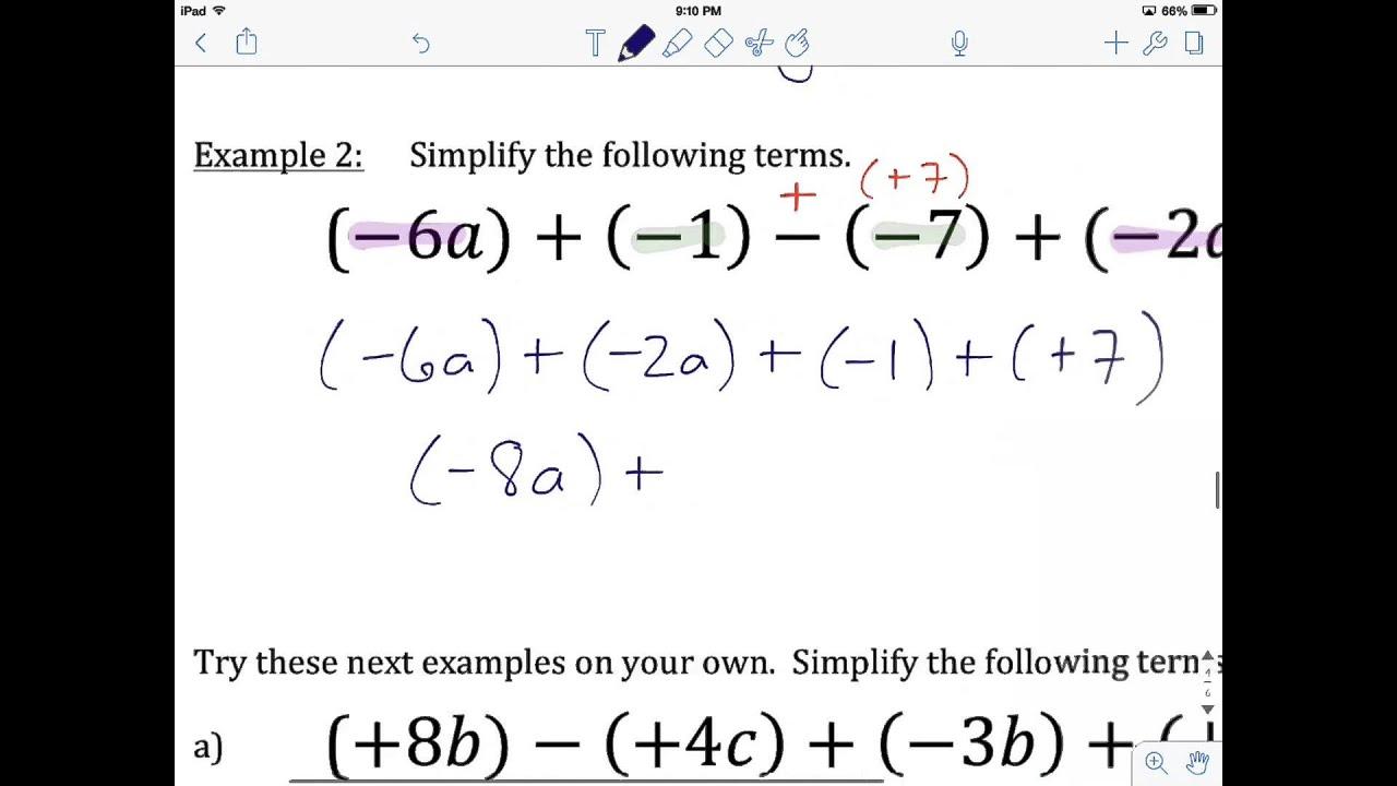 Grade 10 Ff Math Unit 11 Lesson 4