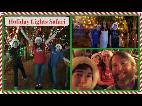 LOUISIANA LIFE: Holiday Lights Safari at the Alexandria Zoo + lots of SNAKES... Vlogmas Episode 6